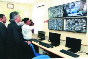 Centralized Surveillance facility for ATMs of the bank